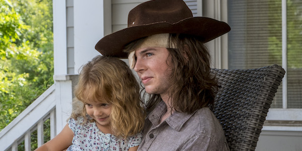 1ab7d9b03e4 How The Walking Dead Handled Carl s Big Death - CINEMABLEND