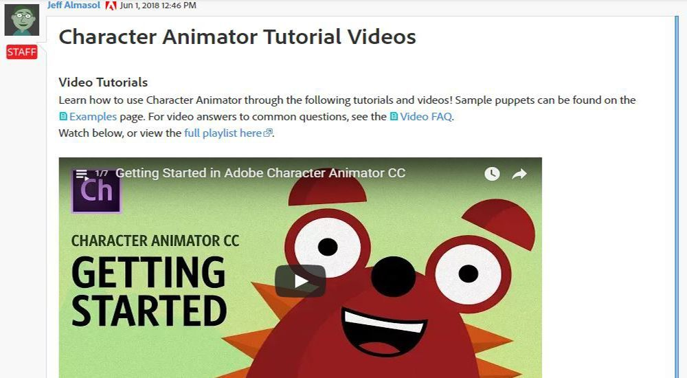 Adobe Character Animator Review | Top Ten Reviews