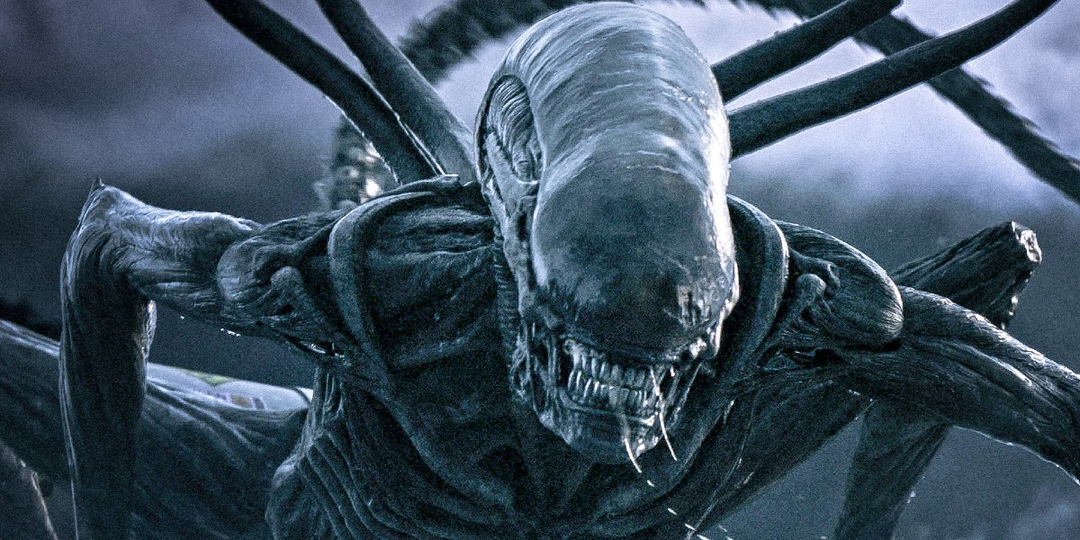 Alien: Covenant a very angry Xenomorph