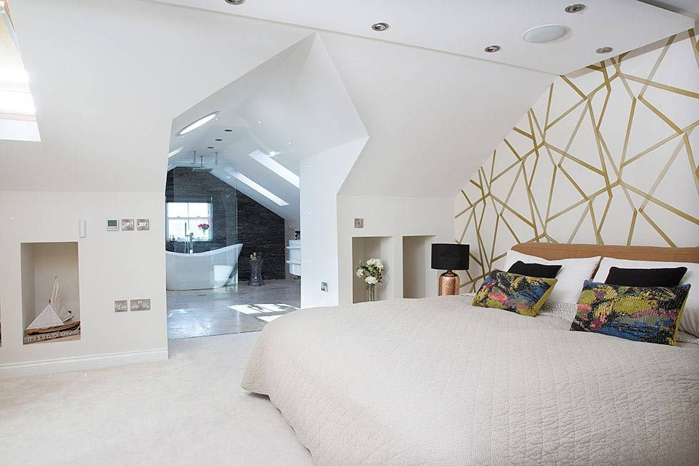 Real Home An Open Plan Master Bedroom Loft Conversion