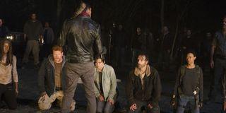 the walking dead negan rick season 6 finale