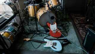 Fender's newly relaunched Kurt Cobain Jag-Stang guitar