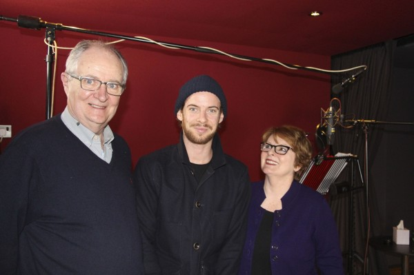 Jim Broadbent, Luke Treadsway and Brenda Blethyn