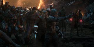 Avengers Assemble in Avengers Endgame