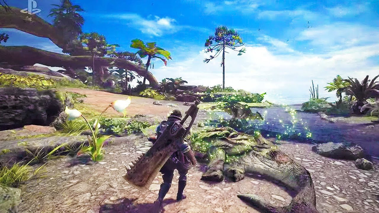 cb6f5252aa2 Monster Hunter  World is targeting 30 fps on consoles