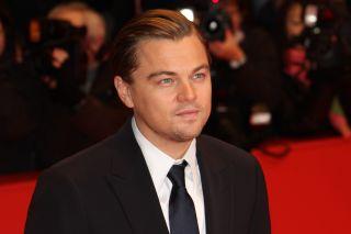 Leonardo DiCaprio at a film festival