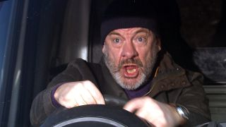 Jimmy loses control in Emmerdale