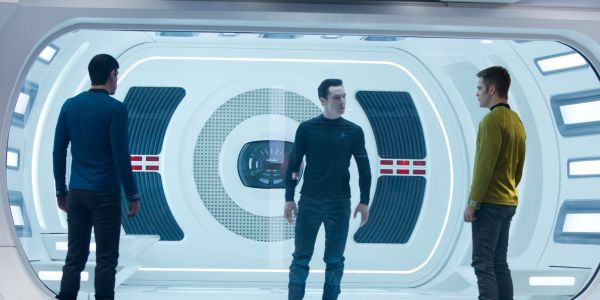 Spock, Kirk and Khan in Star Trek into darkness