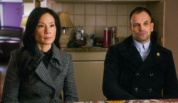 Watson and Sherlock Lucy Liu Jonny Lee Miller Elementary CBS