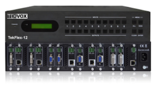 TEKVOX to Debut TekFlex-12 Switchers at InfoComm