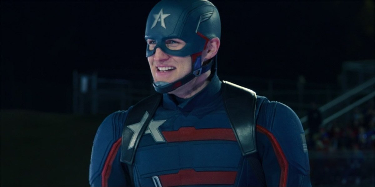Wyatt Russell as John Walker Captain America in The Falcon And The Winter Soldier
