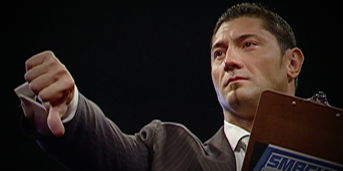 Dave Bautista in Ruthless Aggression
