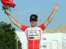 Matt Goss podium, Tour of Oman 2011, stage 2