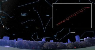 Tonight, Aug. 12, 2019, Uranus will reverse direction and begin a westward loop.