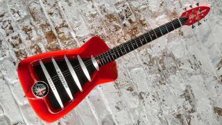 Is it a car? Is it a guitar? It's a guitar.