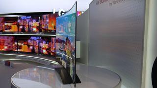 LG 77-inch curved OLED 4K