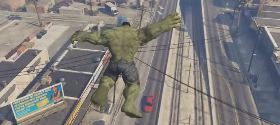 Hulk left the Avengers to be in this GTA 5 mod | GamesRadar+