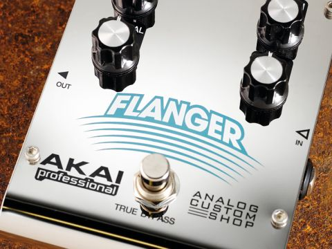 An array of tones can be teased from the Flanger's four-knob set-up.
