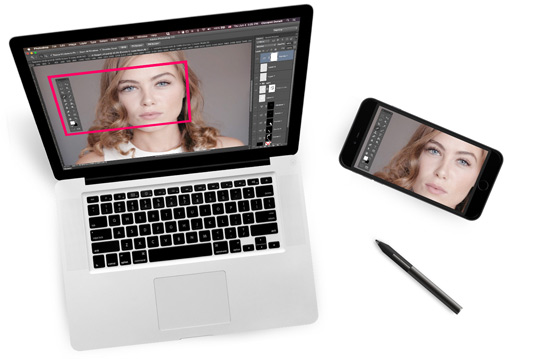 How to turn your phone into a graphics tablet