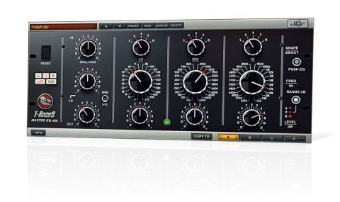 Master EQ 432 is based on one of the most sought-after hardware models ever built