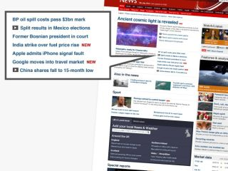 BBC redesign - now with more video and Twitter