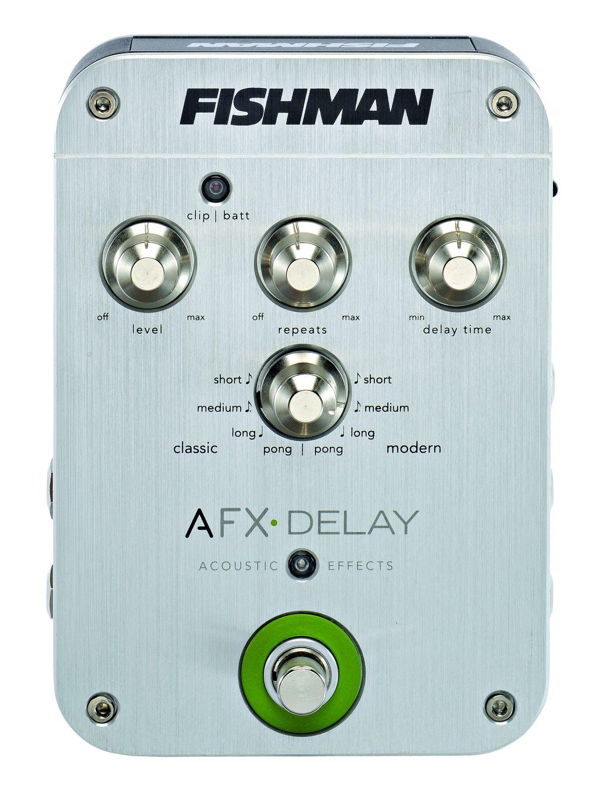 fishman afx delay review musicradar. Black Bedroom Furniture Sets. Home Design Ideas