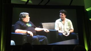 Steve Wozniak and Palmer Luckey