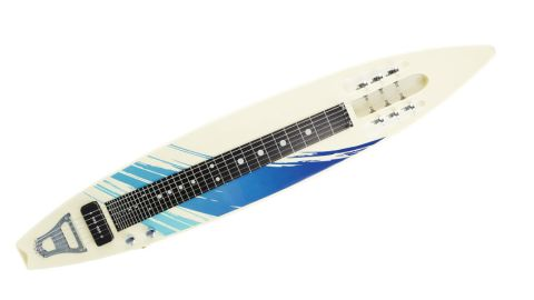 Despite its novelty appearance, the Mahalo MGL1 is a serious instrument, with its lone pickup pumping out a ballsy tone