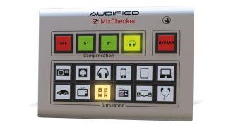 Audified MixChecker simulates a range of different playback devices.