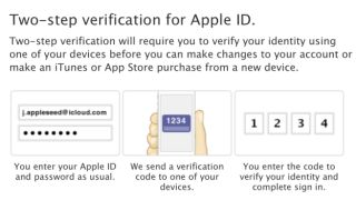 Apple busts out a two-step to boost iCloud, Apple ID security