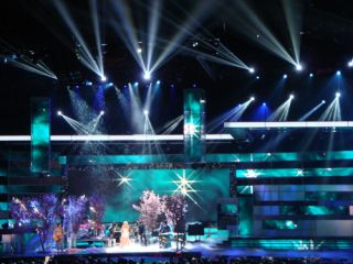 Clay Paky Sharpy Fixtures at the Latin Grammy Awards