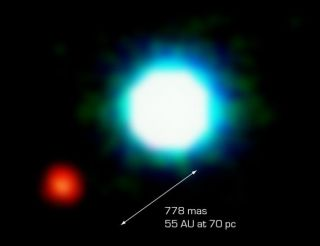 Likely First Photo of Planet Beyond the Solar System
