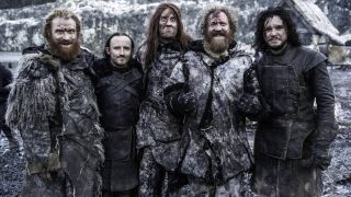 Mastodon on the set of Game Of Thrones in 2014