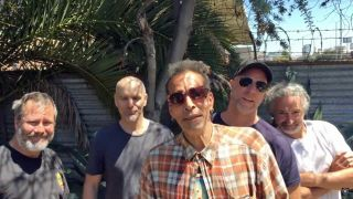 A picture of Faith No More with Chuck Mosley
