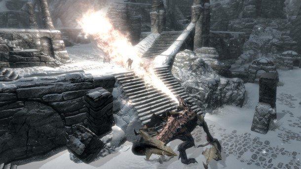 the best skyrim mods: high level enemies