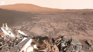 NASA Mars 360-degree video