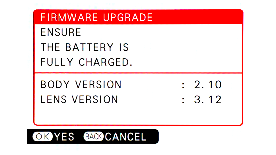 Why should you update your camera's firmware?