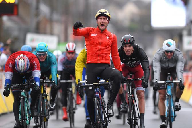 Sonny Colbrelli wins stage 2 of Paris-Nice