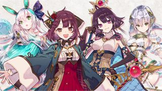 Anime-style main characters of Atelier Sophie 2: The Alchemist of the Mysterious Dream