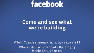 Facebook 'building' something to be revealed next week
