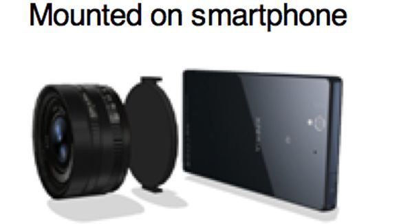 Supposed Sony smartphone lens mount might make your pics less terrible