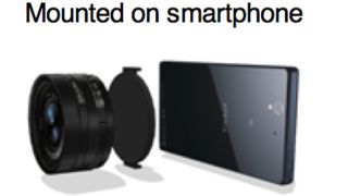 Sony smartphone camera mount