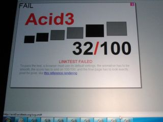 IE9 Acid test