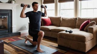The best arm workouts with dumbbells