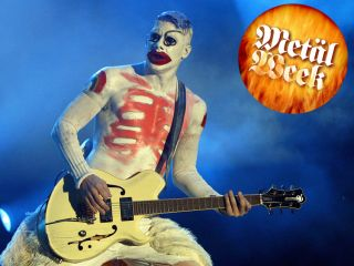Wes Borland onstage in Germany