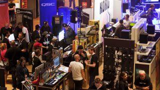 BMC 2015 exhibition in action.