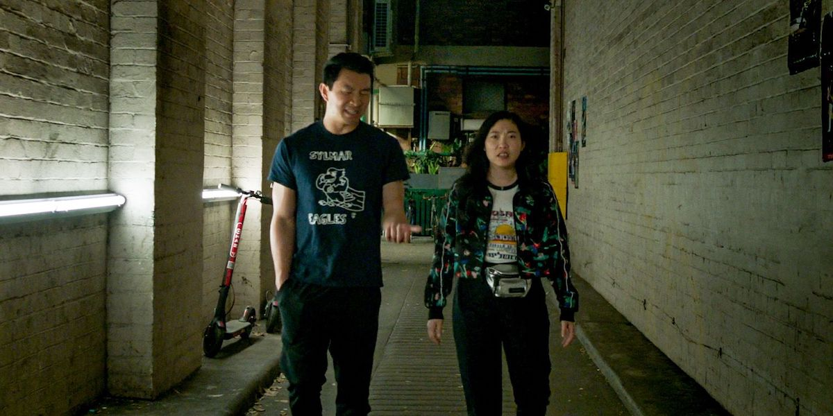 Shang-Chi and Katy in the Marvel film