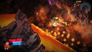 Galak Z screenshot lava bug