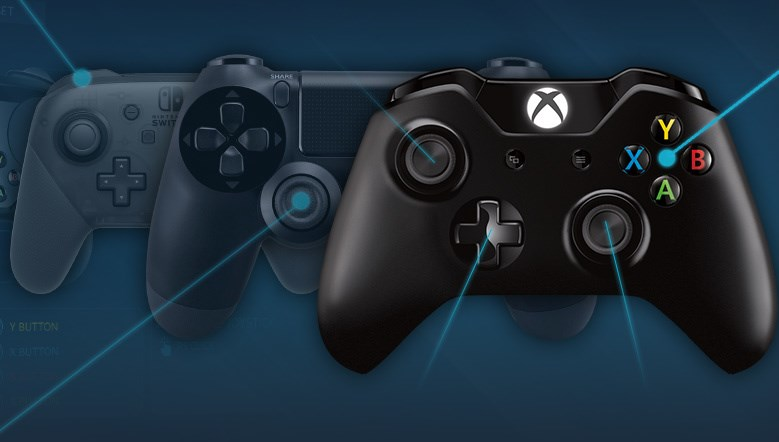 Xbox 360 controller is the most popular on Steam, but PS4
