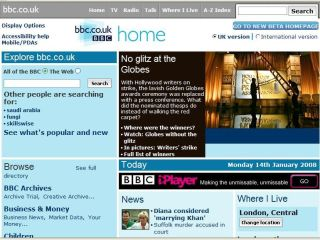 BBC.co.uk: soon to house BBC1